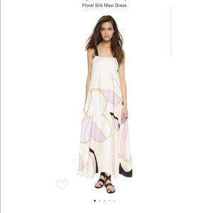 NWT creamy silk Cynthia Rowley dress